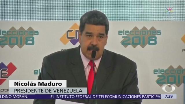 Nicolás Maduro expulsa a dos diplomáticos estadounidenses