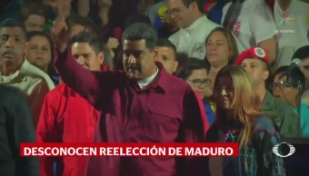 Nicolás Maduro se reelige como presidente