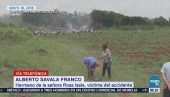 'No pensamos que su viaje fuera sin retorno', dice hermano de víctima mexicana en Cuba