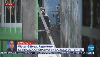 Realizan Operativo Zona Tepito CDMX