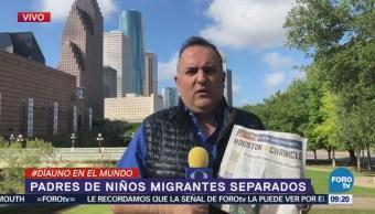 Padres Niños Migrantes Separados Estados Unidos