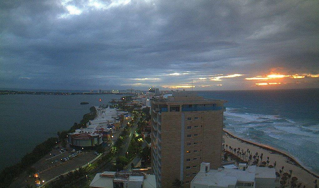 Vigilan desarrollo de potencial ciclónico en Quintana Roo