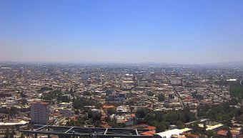 Disminuye potencial de lluvias y aumenta calor en la Ciudad de México