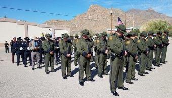 Patrulla Fronteriza honra en Texas a sus agentes