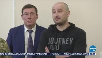 Periodista Ruso Finge Muerte Frustrar Plan Homicida