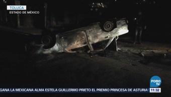 Pobladores de localidad de Toluca intentan linchar