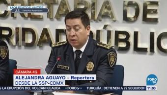Policía capitalina detiene a varios sujetos en diferentes hechos ilícitos