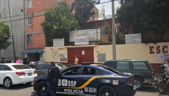 Lesionan a alumno de escuela secundaria en la colonia Morelos, CDMX
