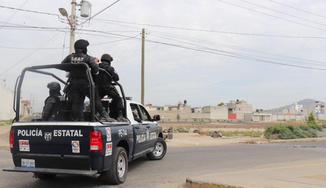 Detienen a dos presuntos huachicoleros en Texmelucan Puebla