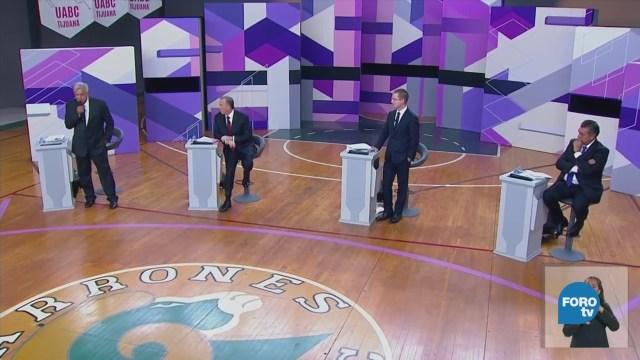 de los candidatos a la Presidencia de México