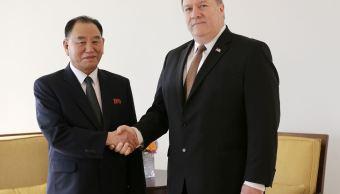 Concluyen reuniones entre Pompeo y Corea del Norte