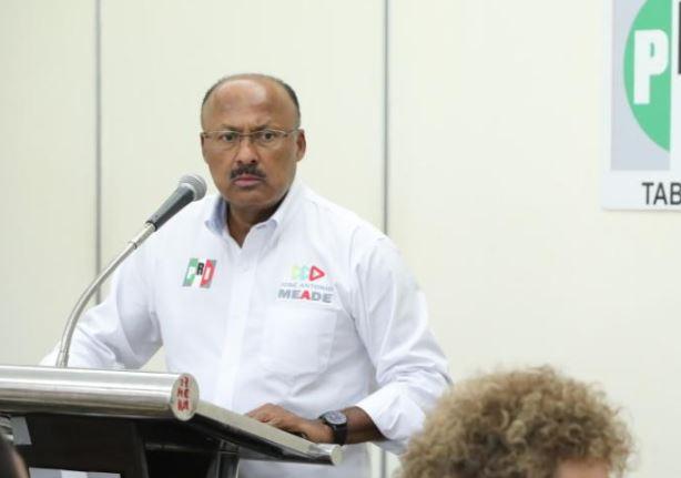 Presentan al nuevo delegado del CEN del PRI en Tabasco