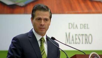 Reforma educativa, la más importante en la trasformación de México, dice Peña Nieto
