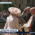 Príncipe Carlos Llega San Jorge