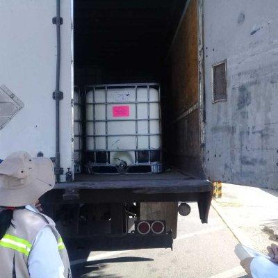 Profepa verifica manejo de materiales, sustancias y residuos peligrosos en carreteras y aduanas