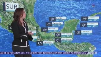 Pronostican Tormentas Fuertes Muy Fuertes Sur México