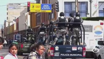Protegen Policías Irapuato Violencia Guanajuato Huachicol