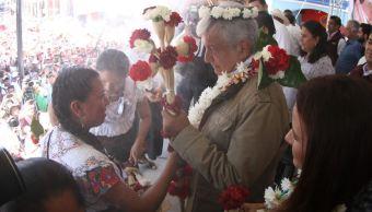 AMLO pide a observadores internacionales vigilar elección en Puebla y Veracruz