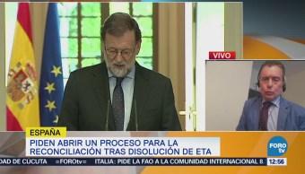 Rajoy rinde homenaje a las personas que fueron
