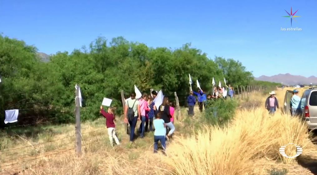 tras ataque chihuahua familia lebaron coloca banderas blancas paz