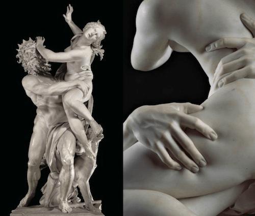 Escultura Mármol Realista Redes Sociales Arte