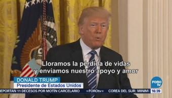 Trump Ofrece Condolencias Tiroteo Escuela Texas