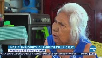 La madre más longeva de Colima celebra el 10 de mayo