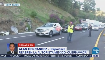 Reabren Autopista México-Cuernavaca Tras 16 Horas Cierre