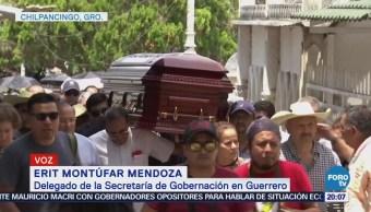 Realizan Funerales Abel Montúfar Chilpancingo Diputado Asesinado