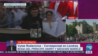Recepción Príncipe Enrique Meghan Markle
