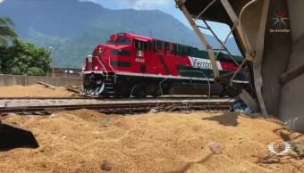 Refuerzan Seguridad Trenes Veracruz Acultzingo Puebla