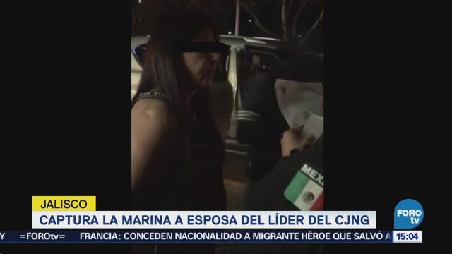 Refuerzan Seguridad Tras Captura Esposa El Mencho