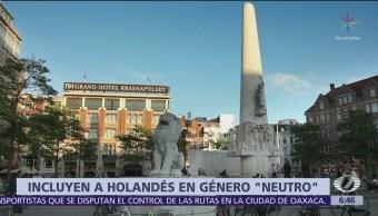 Registro Civil de Holanda incluye concepto de 'intersexuales'