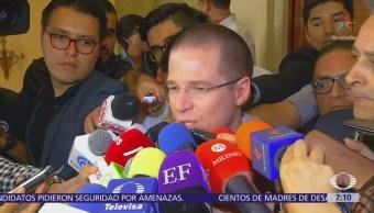 Ricardo Anaya Exhorta Respetar Resultado Elección Julio