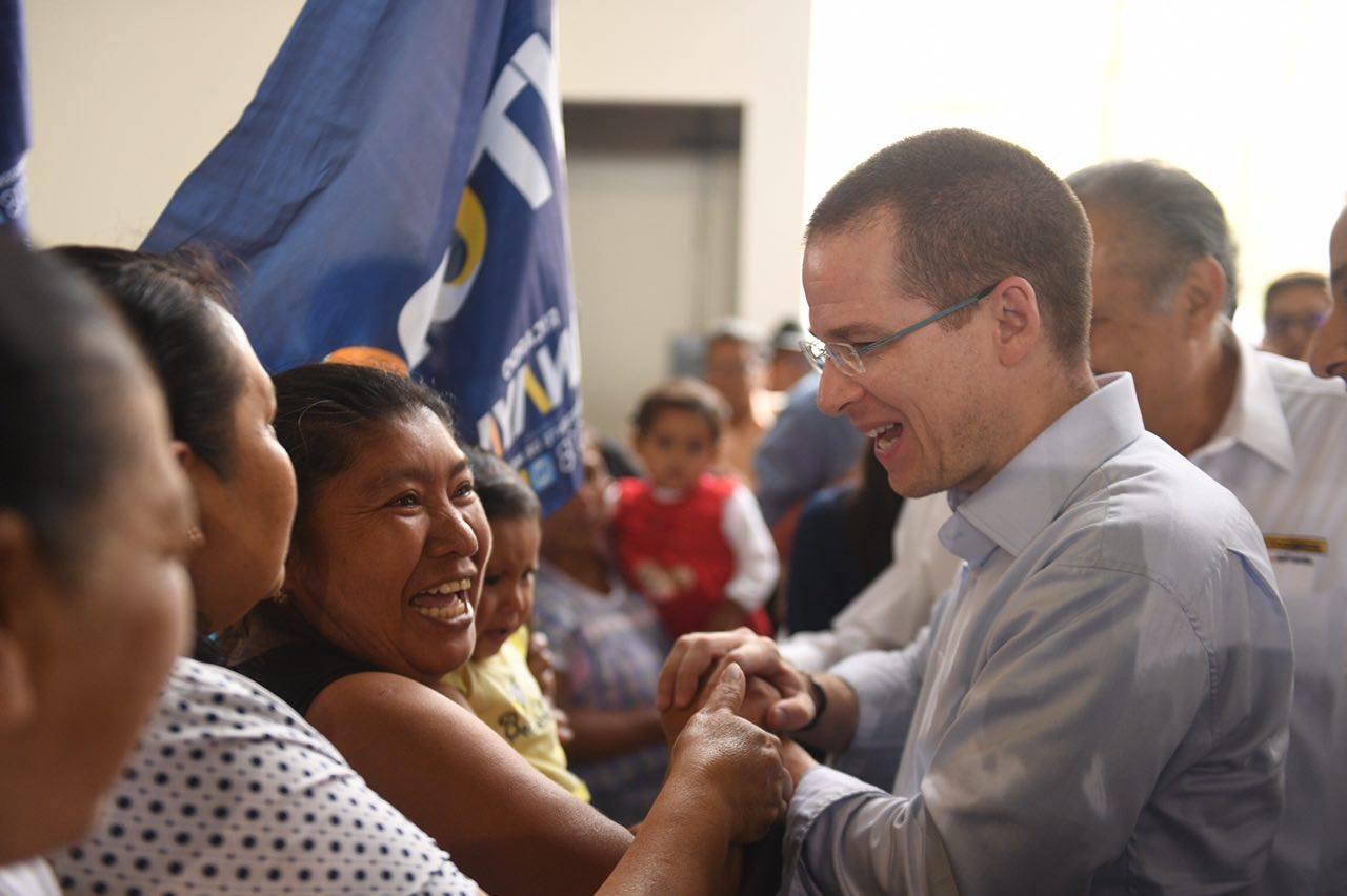Anaya y Barrales acompañan a candidato por Venustiano Carranza