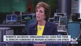 Roberta Jacobson analiza relación México-EU en Despierta con Loret