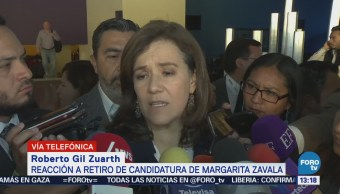 Roberto Gil Margarita Zavala toma decisión valiente