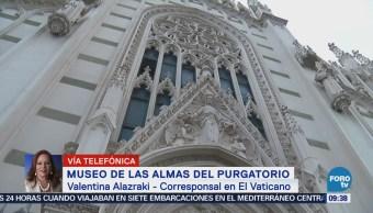 Museo Almas Purgatorio Corresponsal Vaticano, Valentina Alazraki