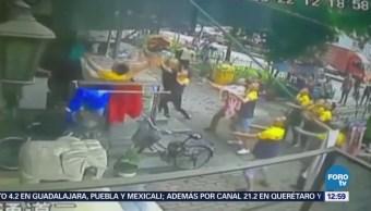 Salvan a niño que cayó de un sexto piso en China