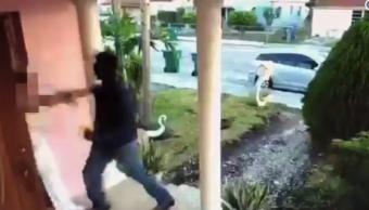 Hombre violar mujer casa intenta Florida