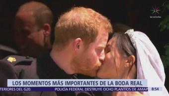 Se casan el príncipe Harry de Inglaterra y Meghan Markle