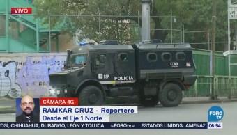 Se mantienen patrullas en Tepito, CDMX