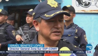 Realizan Operativos Colonia Buenos Aires Tepito