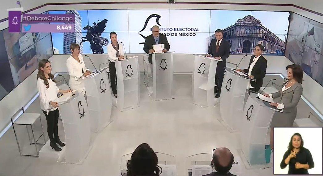 Segundo debate candidatos y candidatas gobierno CDMX