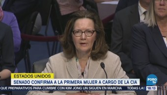 Senado confirma a Gina Haspel para dirigir la CIA