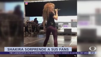 Shakira muestra cómo prepara su cuerpo