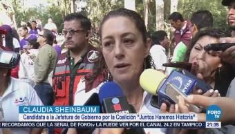 Sheinbaum Desestima Pacto Civilidad Campaña CDMX