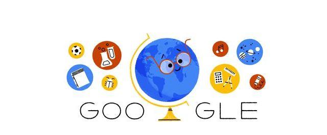 Google conmemora con un doodle animado el Día del Maestro en México