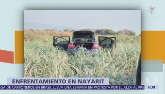 Suman 6 muertos por enfrentamientos en Nayarit