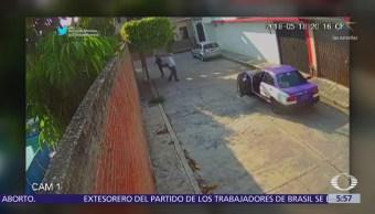 Taxista asalta a joven en Jiutepec